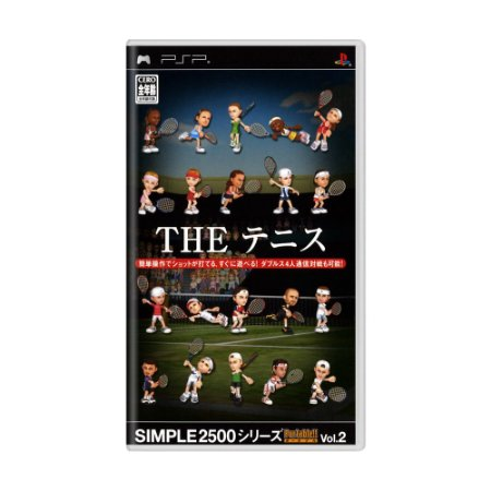 Jogo Simple 2500 Series Portable Vol. 2: The Tennis - PSP