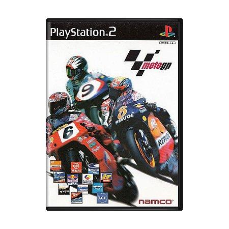 Jogo MotoGP - PS2 (Japonês)