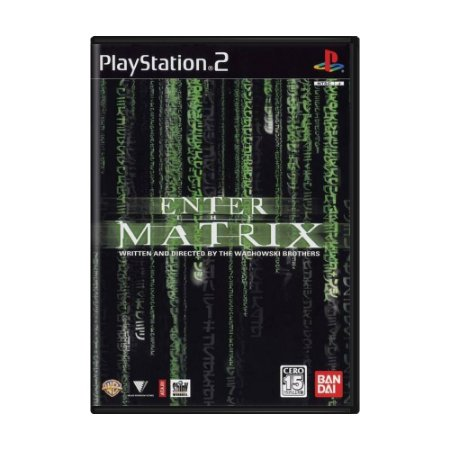 Jogo Enter the Matrix - PS2 (Japonês)