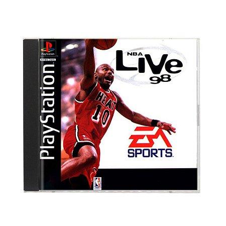 Jogo NBA Live 98 - PS1