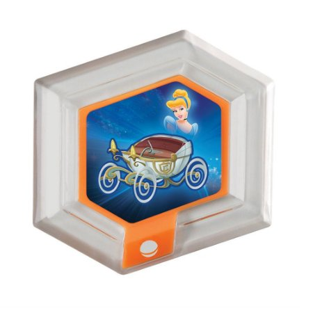 Disco Hexagonal Disney Infinity: Carruagem da Cinderela