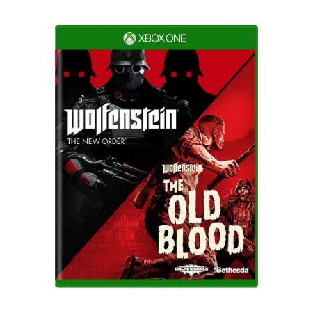 Jogo Wolfenstein: The Old Blood + Wolfenstein: The New Order - Xbox One