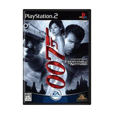 Jogo James Bond 007: Everything or Nothing - PS2 (Japonês)
