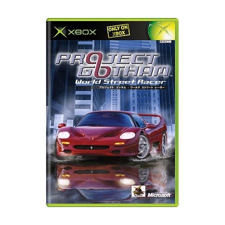 Jogo Project Gotham Racing - Xbox (Japonês)