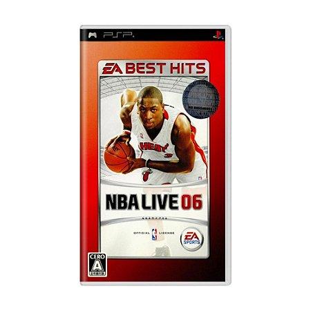 Jogo NBA Live 06 - PSP