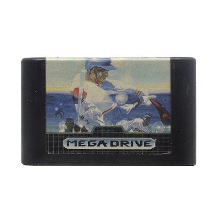 Jogo Super League Baseball - Mega Drive