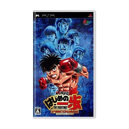 Jogo Hajime no Ippo Portable: Victorious Spirits - PSP