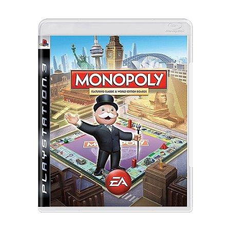Jogo Monopoly - PS3