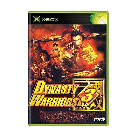 Jogo Dynasty Warriors 3 - Xbox