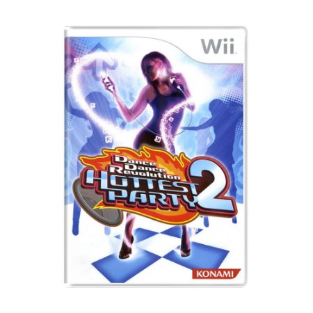 Jogo Dance Dance Revolution Hottest Party 2 - Wii