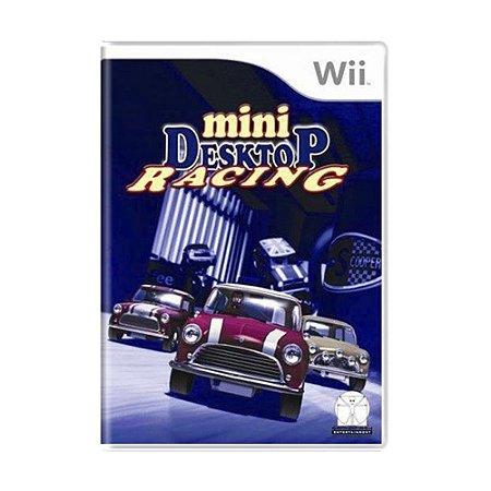 Jogo Mini Desktop Racing - Wii