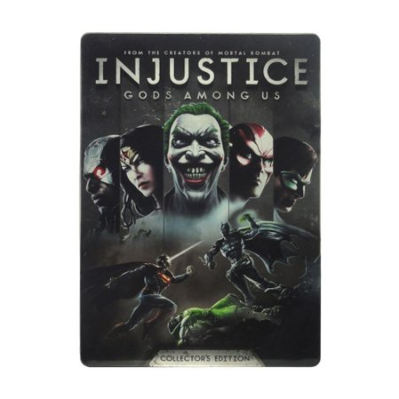 Jogo Injustice: Gods Among Us (SteelCase) - PS3