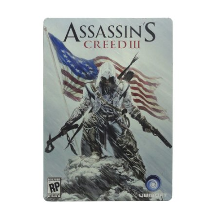 Jogo Assassin's Creed III (SteelCase) - PS3