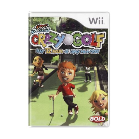 Jogo Kidz Sports Crazy Golf - Wii