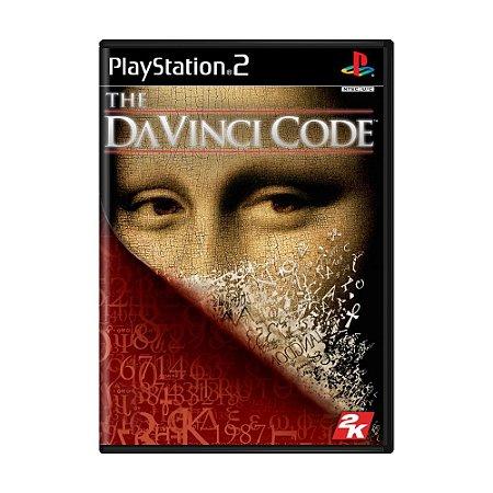 Jogo The Da Vinci Code - PS2