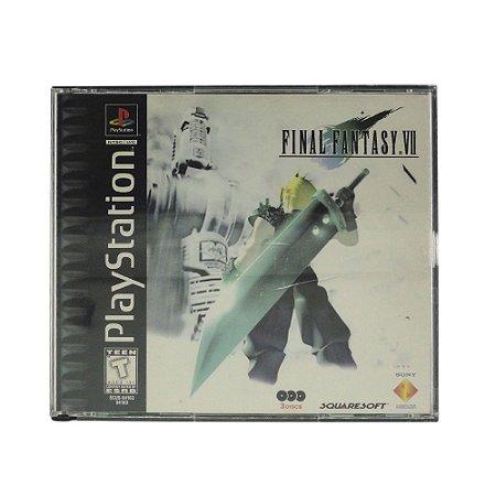Jogo Final Fantasy VII - PS1