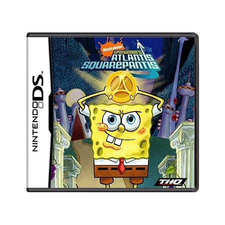 Jogo SpongeBob's Atlantis SquarePantis - DS