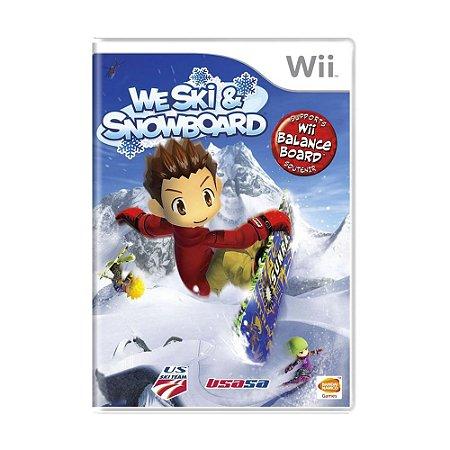 Jogo We Ski & Snowboard - Wii