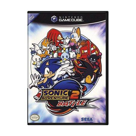 Jogo Sonic Adventure 2: Battle - GameCube