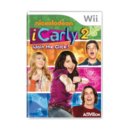 Jogo iCarly 2: iJoin The Click - Wii
