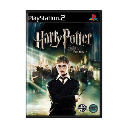 Jogo Harry Potter and the Order of the Phoenix - PS2
