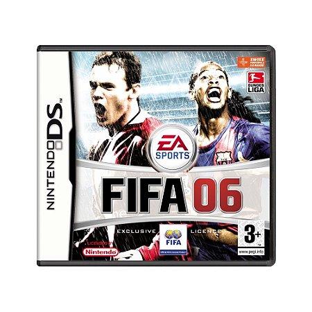 Jogo FIFA 06 - DS (Europeu)
