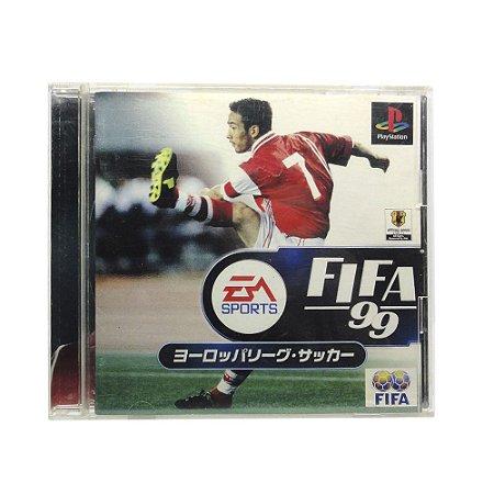 Jogo FIFA 99 - PS1 (Japonês)