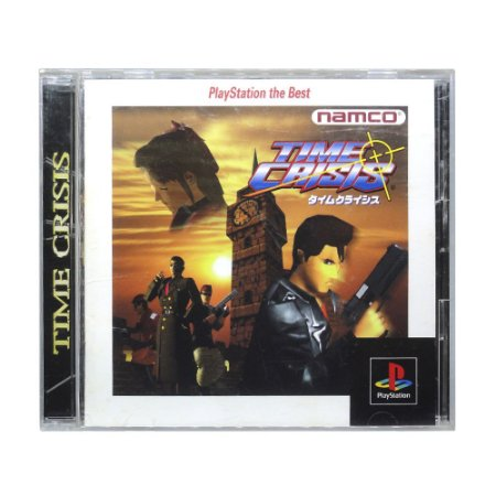 Jogo Time Crisis - PS1 (Japonês)