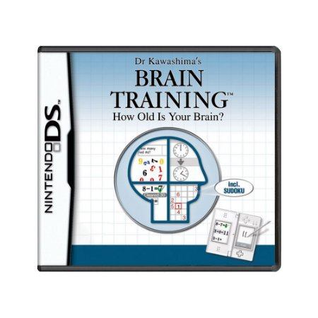 Jogo Dr Kawashima's Brain Training: How Old Is Your Brain?  - DS (Europeu)