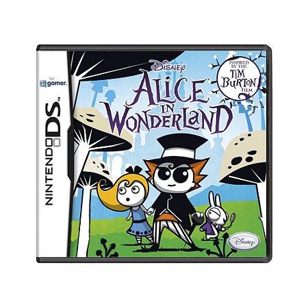 Jogo Alice in Wonderland - DS