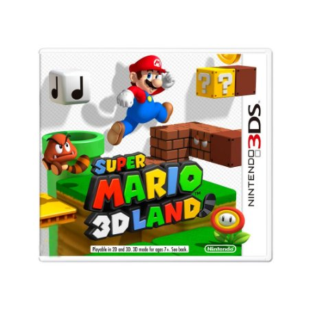 Jogo Super Mario 3D Land - 3DS