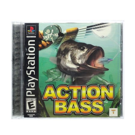 Jogo Action Bass - PS1