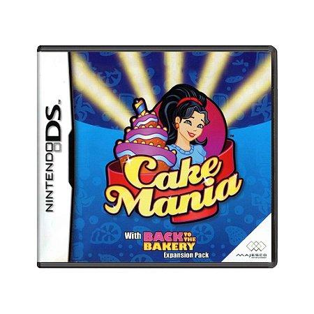 Jogo Cake Mania - DS