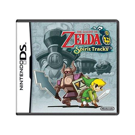 Jogo The Legend of Zelda: Spirit Tracks - DS