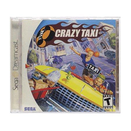 Jogo Crazy Taxi - DreamCast