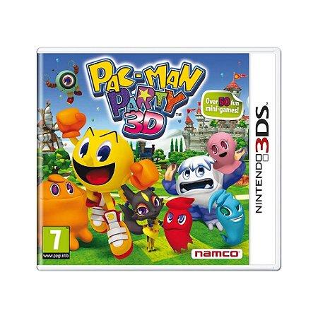 Jogo Pac-Man Party 3D - 3DS (Europeu)