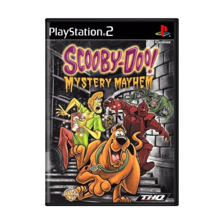 Jogo Scooby-Doo! Mystery Mayhem - PS2