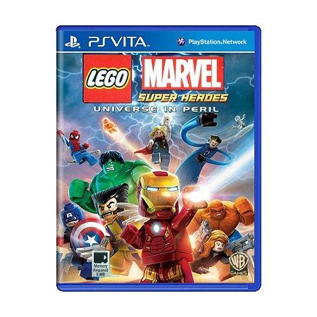 Jogo LEGO Marvel Super Heroes: Universe In Peril - PS Vita