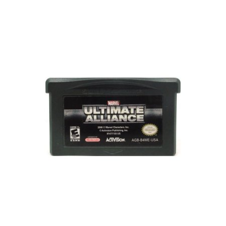 Jogo Marvel: Ultimate Alliance - GBA