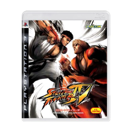 Jogo Street Fighter IV - PS3