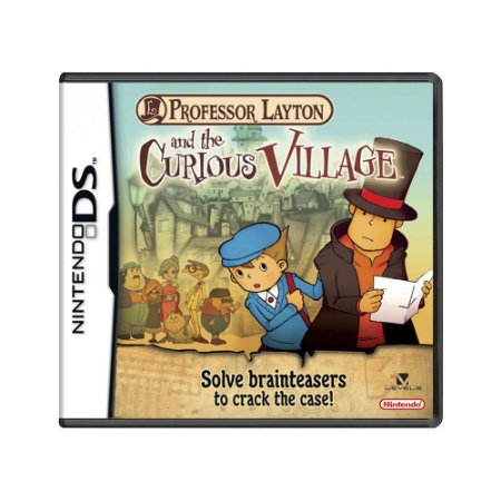 Jogo Professor Layton and the Curious Village - DS