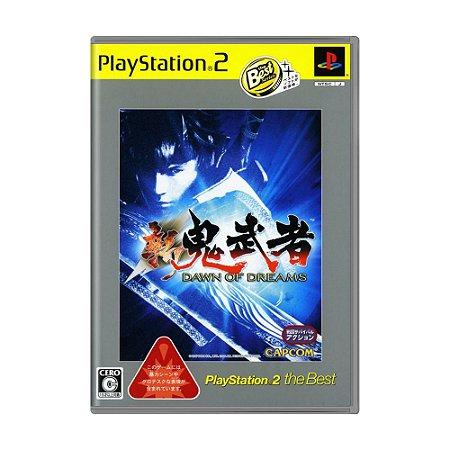 Jogo Shin Onimusha: Dawn of Dreams - PS2 (Japonês)