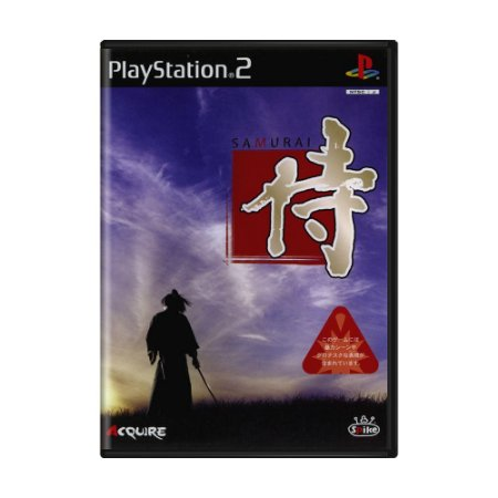 Jogo Samurai - PS2 (Japonês)