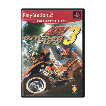 Jogo ATV Offroad Fury 3 - PS2