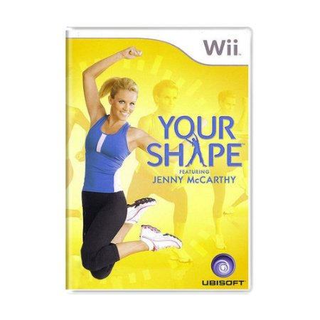 Jogo Your Shape Featuring Jenny McCarthy - Wii