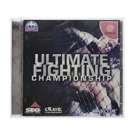 Jogo Ultimate Fighting Championship - DreamCast (Japonês)
