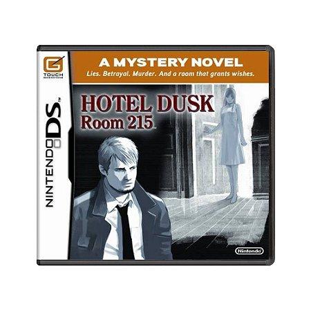 Jogo Hotel Dusk: Room 215 - DS
