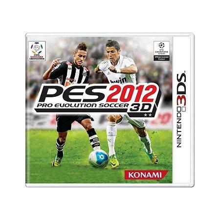 Jogo Pro Evolution Soccer 2012 3D - 3DS