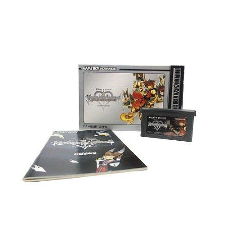 Jogo Kingdom Hearts: Chain of Memories (Ultimate Hits) - GBA (Japonês)