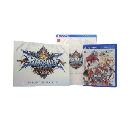 Jogo BlazBlue: Chrono Phantasma Extend (Limited Edition) - PS Vita